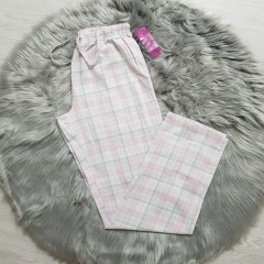 WWL COLLECTION Mens Pants (LIGHT PINK - GRAY) (S - M - L - XL)