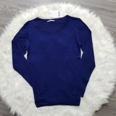 ZUIKI Ladies Blouse (DARK BLUE) (S - M - L - XL)