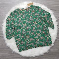 CECIL Ladies Shirt ( GREEN) ( L - XL - XXL)