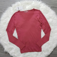 ZUIKI Ladies Blouse (PINK) (S - M - L - XL)