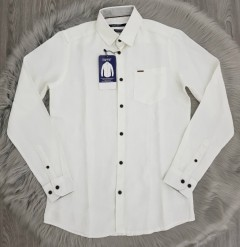 SPRIT Mens Long Sleeved Shirt (WHITE) (S - M - L - XL)