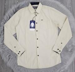 SPRIT Mens Long Sleeved Shirt (CREAM) (S - M - L - XL)
