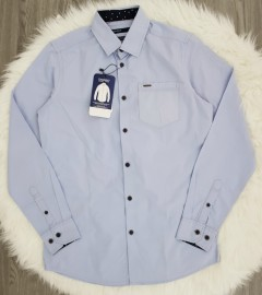 SPRIT Mens Long Sleeved Shirt (LIGHT BLUE) (S - M - L - XL)