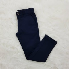 TAPERED FIT Mens Twill Pants (NAVY) (26 to 42 EUR)