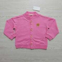 MARI SMORI Girls Sweat Shirt (PINK) (100 cm to 130 cm)