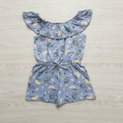 FOREVER ME Girls Romper (BLUE) (2 to 6 Years)