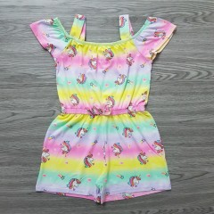 FOREVER ME Girls Romper (MULTI COLOR) (3 to 6 Years)