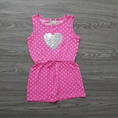 FOREVER ME Girls Romper (PINK) (3 to 6 Years)