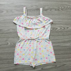 FOREVER ME Girls Romper (GRAY) (2 to 6 Years)