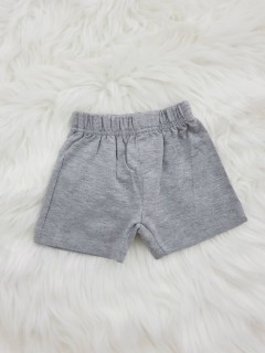 BASIC Boys Short (GRAY) (3 Months TO 36 Months)