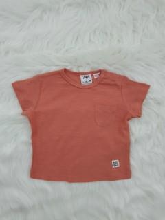 ZARA Boys T-shirt (ORANGE) (3-6 Months To 3-4 Years)
