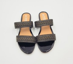 GIOIRE Ladies Sandals Shoes (BLACK) (37 to 41)