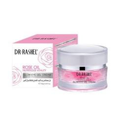 DR RASHEL Rose Oil Nutritious Vitality Glow Eye Gel Cream (30g) (MOS)