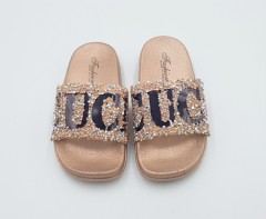 CUCI Girls Slippers (GOLD) (24 to 29)