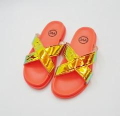 WK Ladies Slipper (ORANGE - GOLD) (36 to 41)