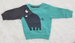 NEXT 8.2 Boys Long Sleeved Shirt (GREEN - BLACK) (6 Months to 6 years)