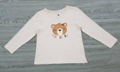 LUPILU Girls Long Sleeved Shirt (LIGHT PINK) (98 to 116 CM)