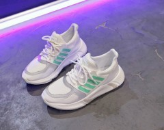 Ladies Shoes (WHITE - GREEN) (36 to 41)