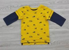 NEXT 8.2 Boys Long Sleeved Shirt (DARK YELLOW - BLACK) (3 Months to 7 years)