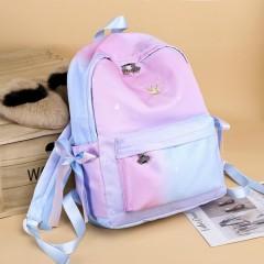 Back Pack (PINK - LIGHT BLUE) (Os)