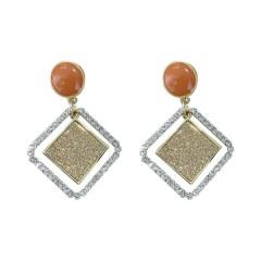Ladies Earrings (ORANGE)