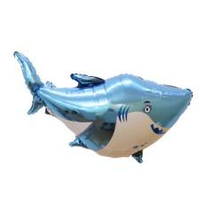 Balloon with sea animals design (BLUE) ( 96×57 )