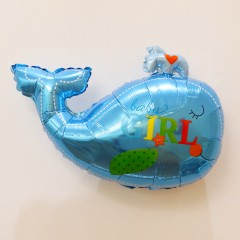 Balloon With Sea Animals Design (BLUE) ( 85×65 )