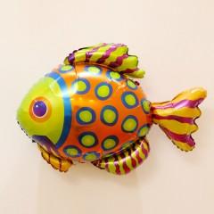 Balloon With Sea Animals Design (MULTI COLOR) ( 82×57 )