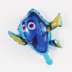 Balloon With Sea Animals Design (BLUE) ( 65×45 )