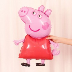 Balloon With Peppa Pig Design (MULTI COLOR) ( ONE SIZE )
