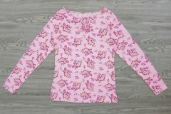 BASIC Ladies Blouse (PINK) (XS - S - M - L)