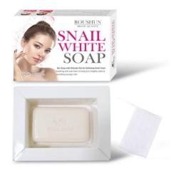 ROUSHUN Snail soap lightening skin white soap snail whitening soap (120g) (mos)