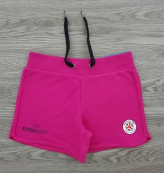 EURO2020 Girls Shorty (PINK) (4 to 14 Years)