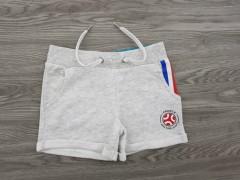 EURO2020 Girls Shorty (GRAY) (4 to 14 Years)