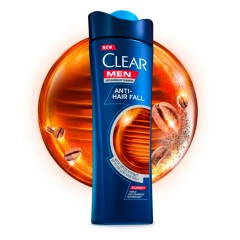 CLEAR Men Anti-Hair Fall Anti-dandruff shampoo with Coffee Extract (165ML) (MOS)