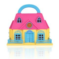 Mini Doll House (MULTI COLOR) (215 × 130 × 205 MM)