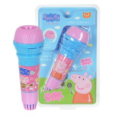 Kids Microphone Toys (PINK - BLUE) (19×6 Cm)