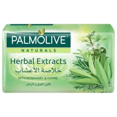 PALMOLIVE Naturals Herbal Extracts Bar Soap (90gr) (mos)