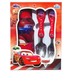 Spoon And Fork Spider Man Set (RED) (ONE SIZE)