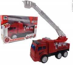 Fire Truck Toy (RED) (24.5 × 9.5 × 15.5 CM)