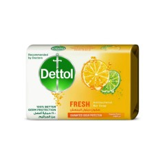 Dettol  Antibacterial Bar Soap Fresh With Refreshing Citrus Fragrance To Give You Assured (65G) (MOS)