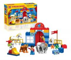Funny Blocks Toys (As Photo) (34 × 23 . 7X 8 CM)