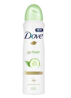 DOVE Go Fresh Spray Antiperspirant Deodorant ,Cucumber and Green Tea (150ml) (mos)
