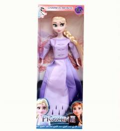 Frozen Elsa Doll (PURPLE) (32.5×12×4.5 CM)