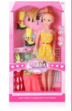 Barbie Toys (YELLOW) (18×4.5×33.5)