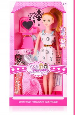 Barbie Toys (WHITE) (18×4.5×33.5)