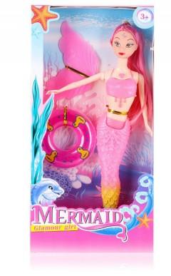 Mermaid Toys (PINK) (16×4.5×33.5 CM)