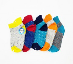 TOM AND DAISY Boys Socks 5 Pcs Pack (AS PHOTO) (0 to 14 Years)