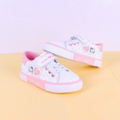 Girls Shoes (WHITE-PINK) (25 to 30)