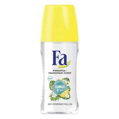 Fa Roll On Hawaii Love Pine Apple Scent 4h For Women  50ml (Exp: 10. 2022) (mos)